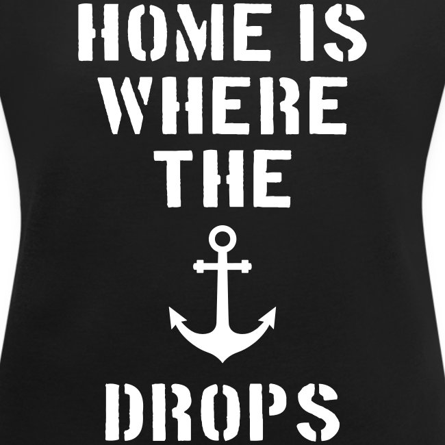 Home is where the anchor drops
