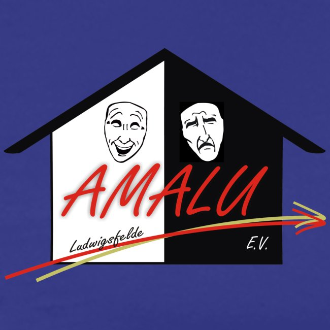 T-Shirt Herren mit Amalu Logo