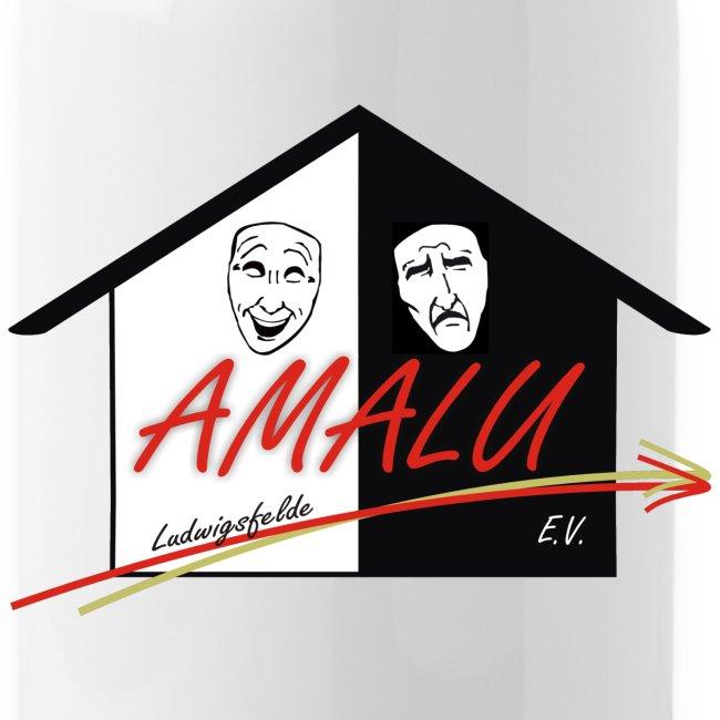 Trinkflasche mit Amalu Logo