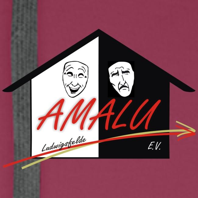 Hoodie Herren mit Amalu Logo