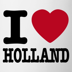 Wit i love holland NL Mokken - Mok