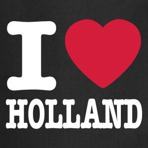 Noir i love holland FR Tabliers - Tablier de cuisine