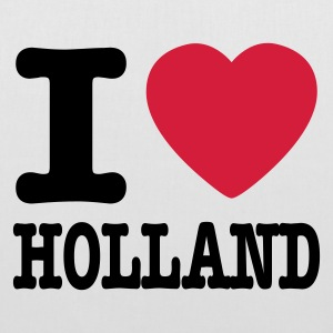 Blanc i love holland FR Sacs - Tote Bag