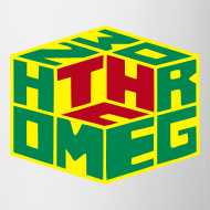 Design ~ Homegrown [THC] Cube (rot/gelb/grün) Tasse