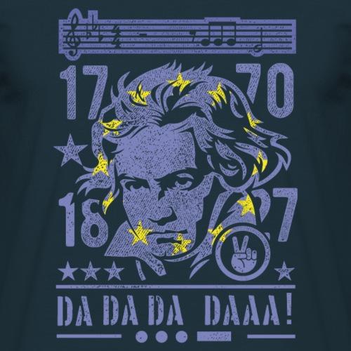"T-Shirt-Design ""Beethoven, Europa"""