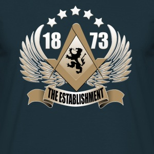 Navy The Establishment Men's T-Shirts - Men's T-Shirt