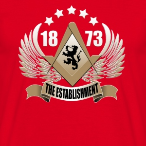 Red The Establishment Men's T-Shirts - Men's T-Shirt