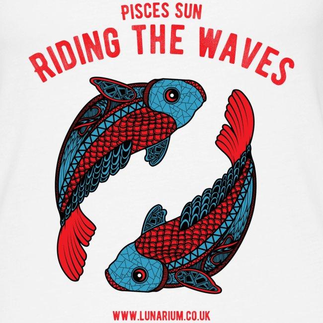 Pisces Sun Women's Premium Tank Top