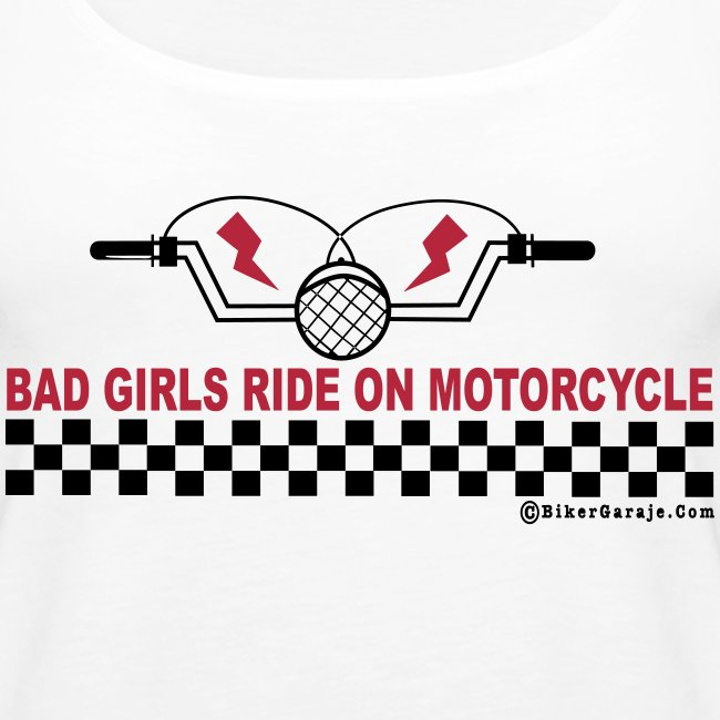 Camiseta Tirantes Bad Girl Motorcycles