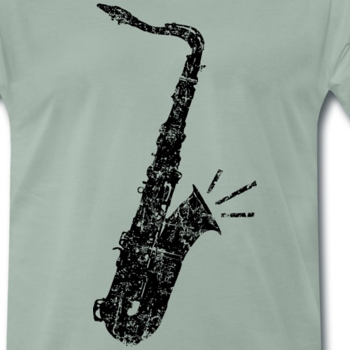 Tenor Saxophon (Distressed Schwarz)
