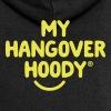 The Original My Hangover Hoody® - Black and Yellow - Women's Premium Hooded Jacket