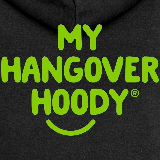 The Original My Hangover Hoody® - Black and Green