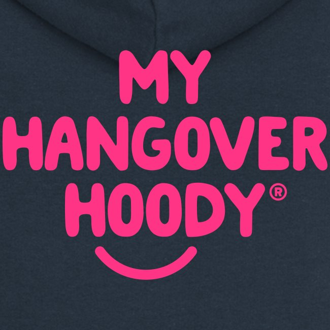 The Original My Hangover Hoody® - Blue and Pink