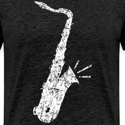 Tenor Saxophon (Distressed Weiss)