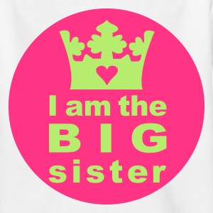 I am the Big Sister - Teenage T-shirt