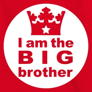 Rot I am the Big Brother Kinder T-Shirts - Teenager T-Shirt