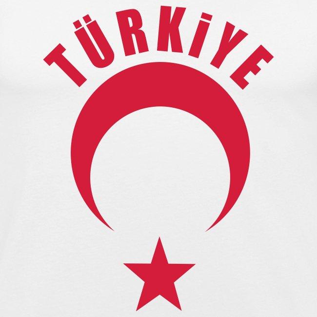 Türkiye Shirt Erkek Beyaz