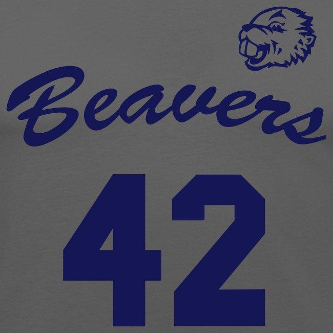 Beavers 42 'Teenwolf' + backside print