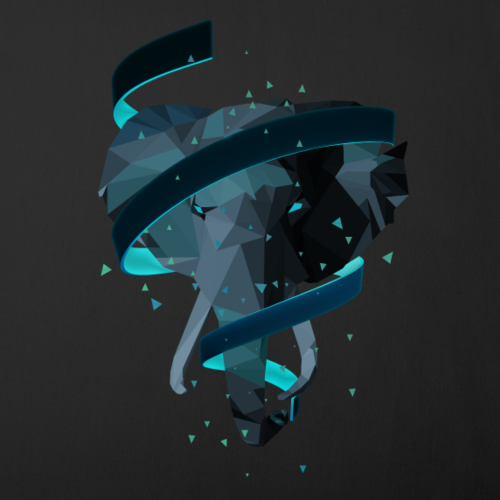 3D Art Polygonal Animal