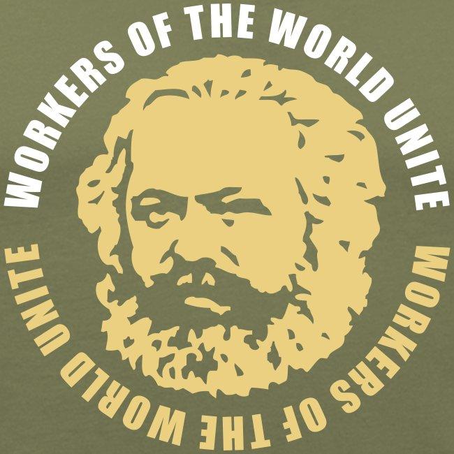 Karl Marx Slogan Slim Fit Tee