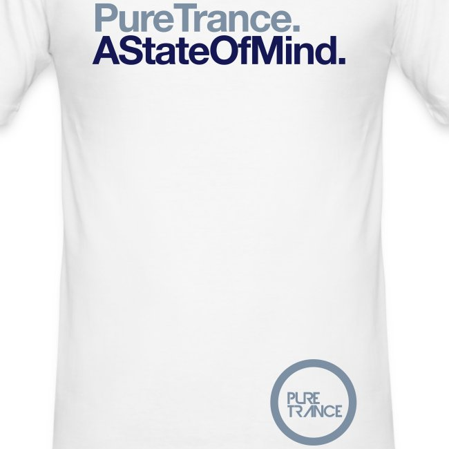 A State Of Mind... [Male] White / Metallic / Navy Blue