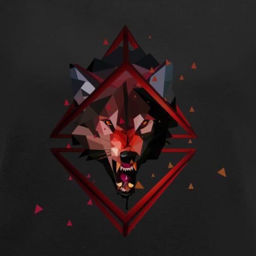 3D polygonal Art Wolf