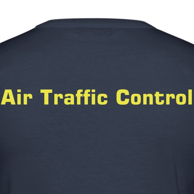 """Air Traffic Control"" T-Shirt, dark navy"