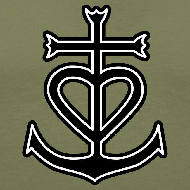 973344c1ede Croix de camargue et gardians