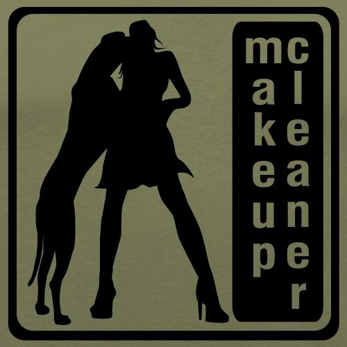makeupcleaner Dogge mit Frau