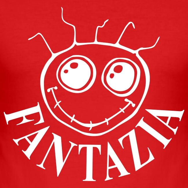 Slim Fit Fantazia Smiley Logo T-shirt