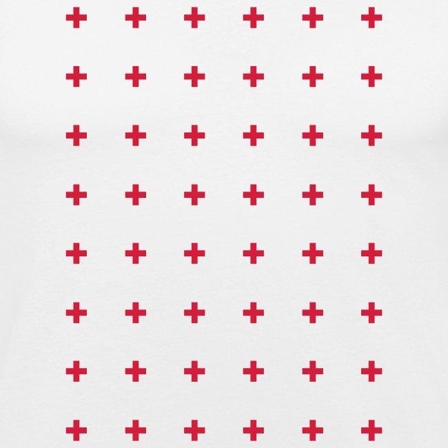 cros pattern mens t-shirt