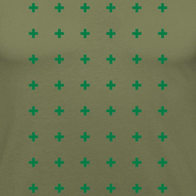 cross pattern t-shirt design