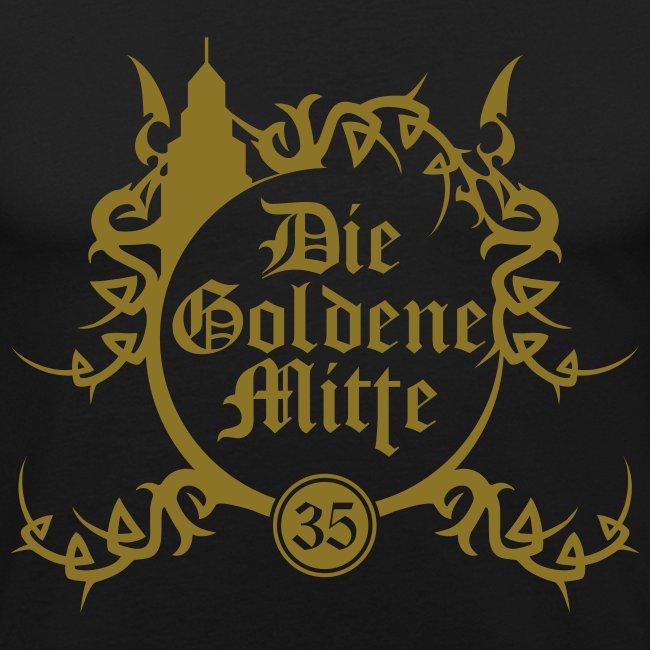 """T-Shirt """"DGM"""" (schwarz/gold)"""