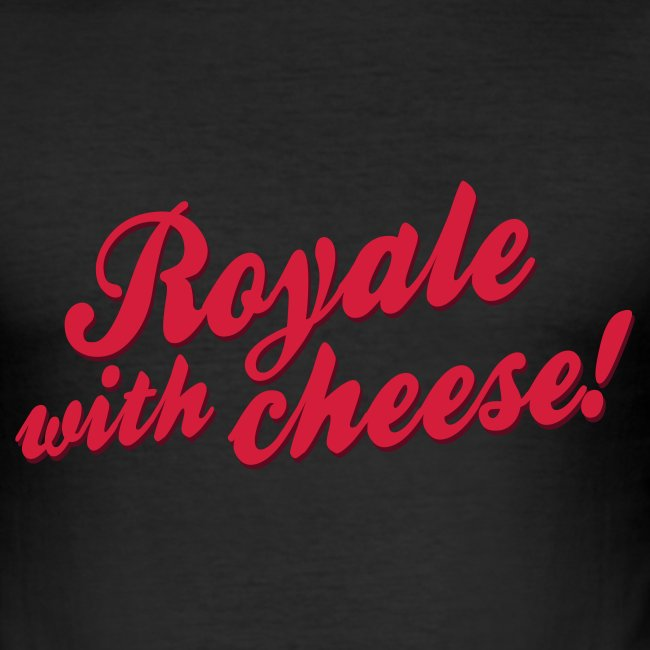 Royale with Cheese! (seen @ DWDD Giel Beelen)