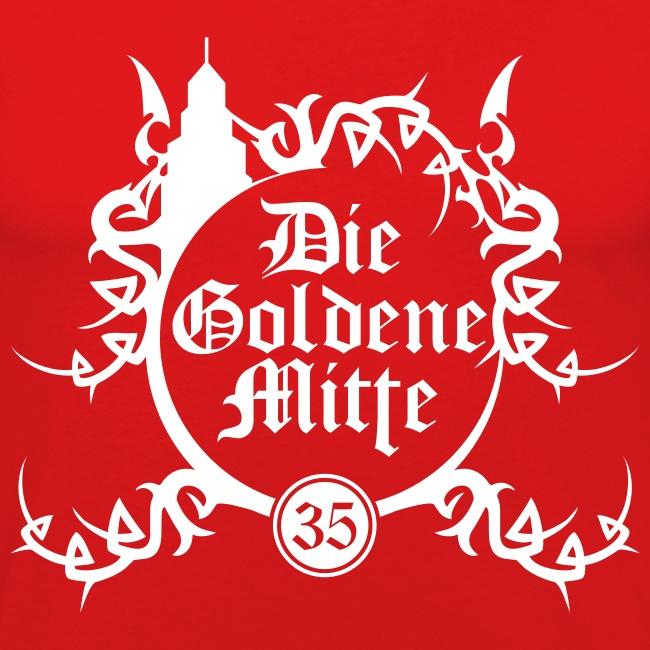 """T-Shirt """"DGM"""" (rot/weiß)"""