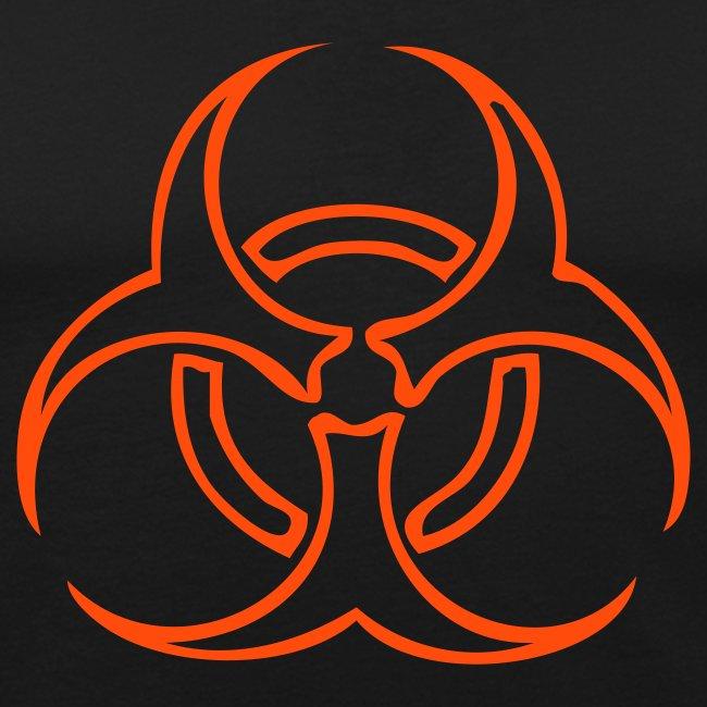 Biohazard Lines - Neonorange