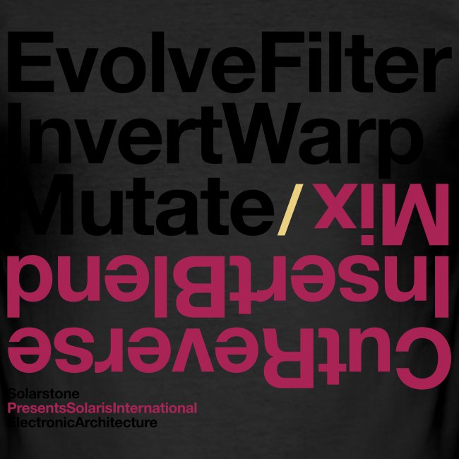 Electronic Architecture 'Evolve' Fitted T-shirt
