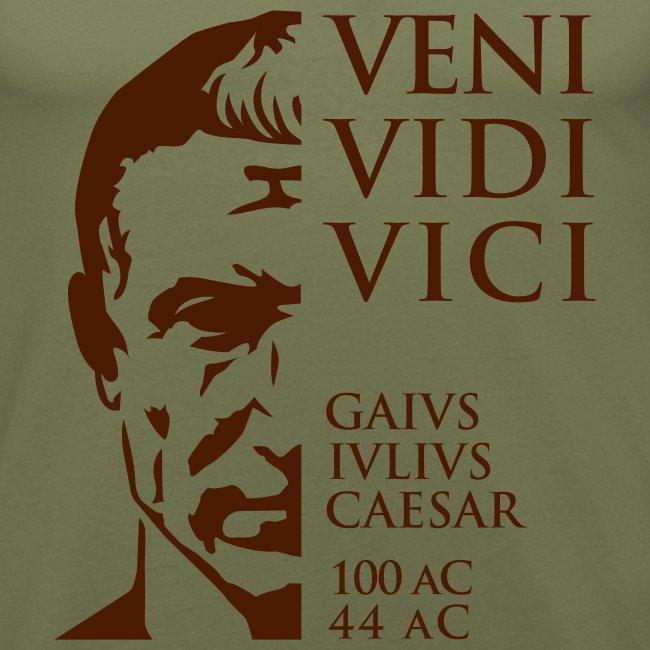 Camiseta Hombre Slim Fit Cesar Veni Vidi Vici