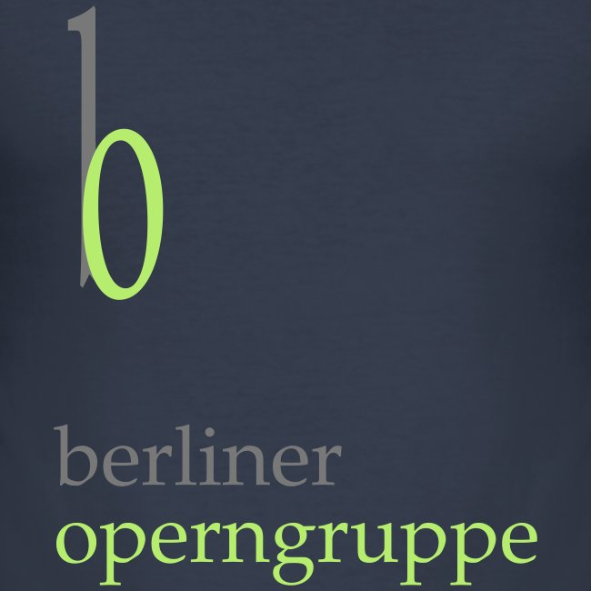 Herren Slim-Fit T-Shirt Berliner Operngruppe