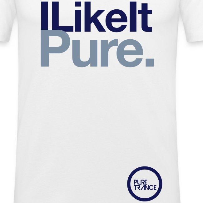 I Like It Pure. [Male] (Navy / Metallic)