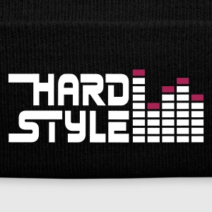 Black hard style hardstyle equalizer EN Caps & Hats - Winter Hat