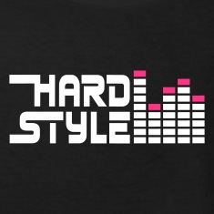 Black hard style hardstyle equalizer EN Kids' Shirts