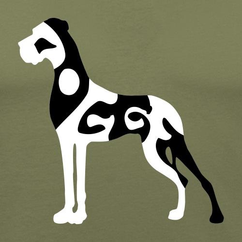 Dogge aus Schriftstücken