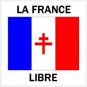 La France libre - Tablier de cuisine