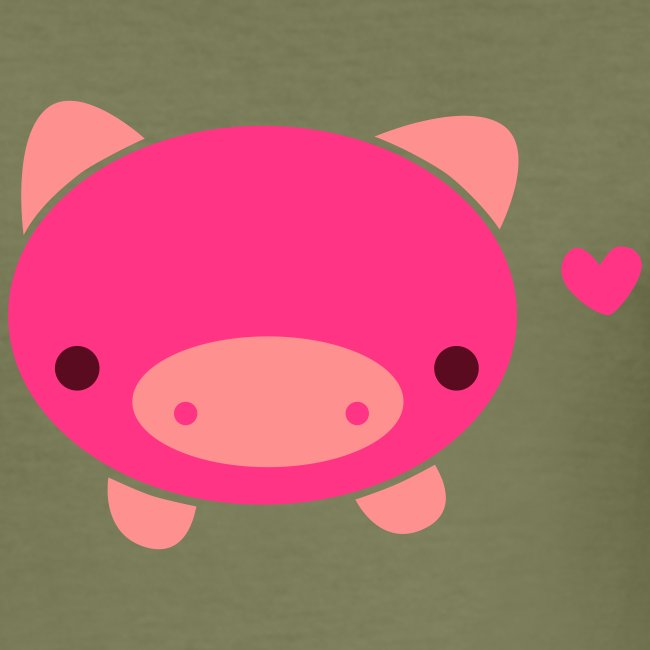 Piggie T-Shirt Brown