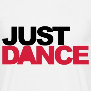 Wit Just Dance V2 T-shirts - Mannen T-shirt