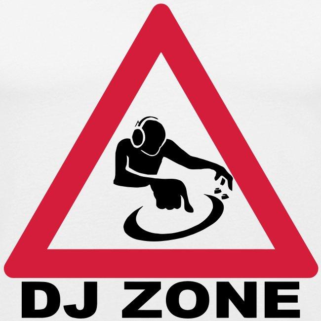 Warning DJ Zone t-shirt