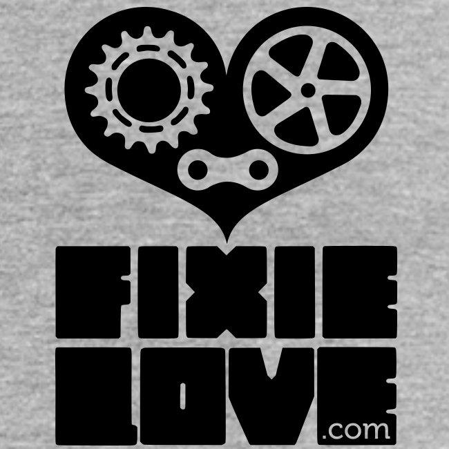 fixie love logo poitrine