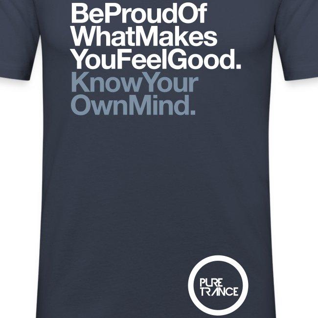 Be Proud. [Male] Metallic / White