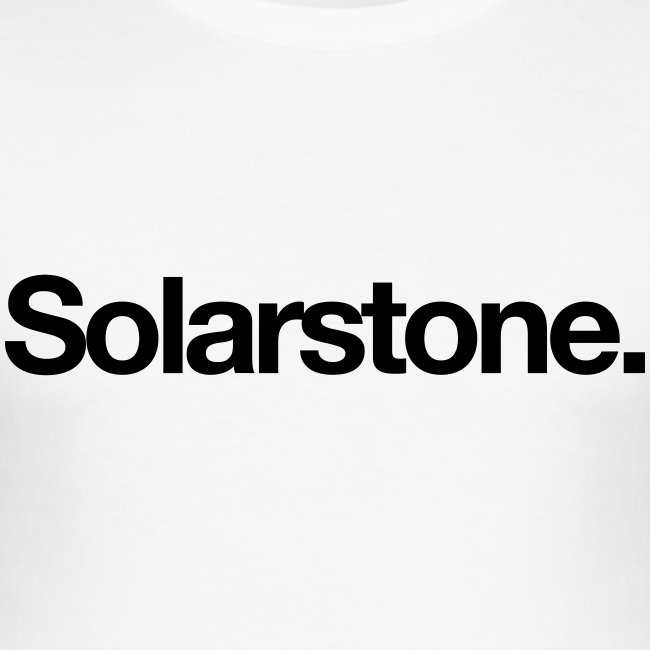 Solarstone [Male] Black on White